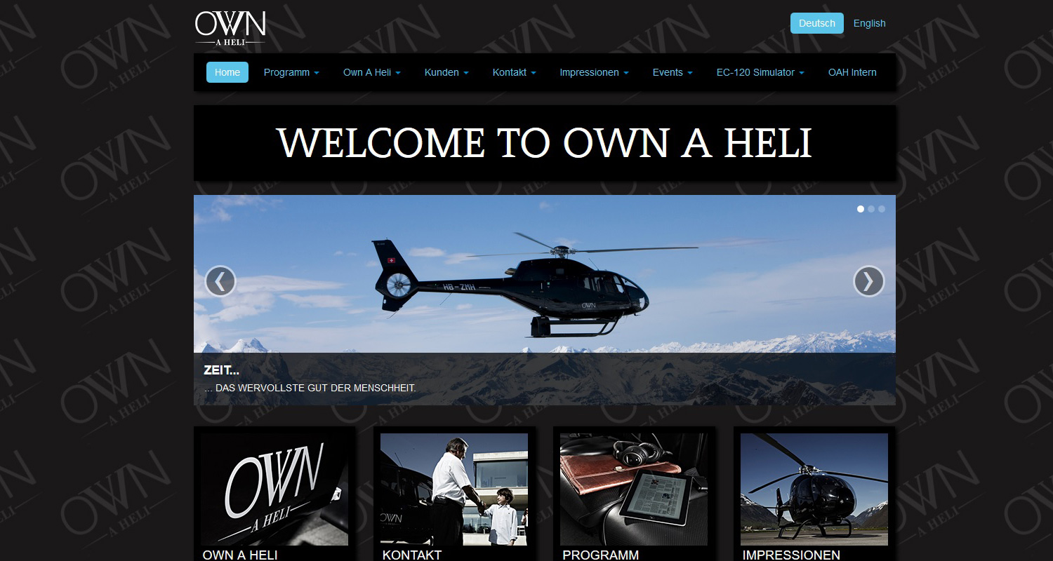 Own a Heli